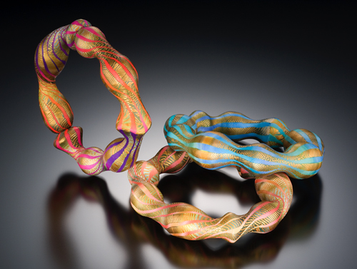 Оригинальные браслеты из полимерной глины от Элиc Винтерс
