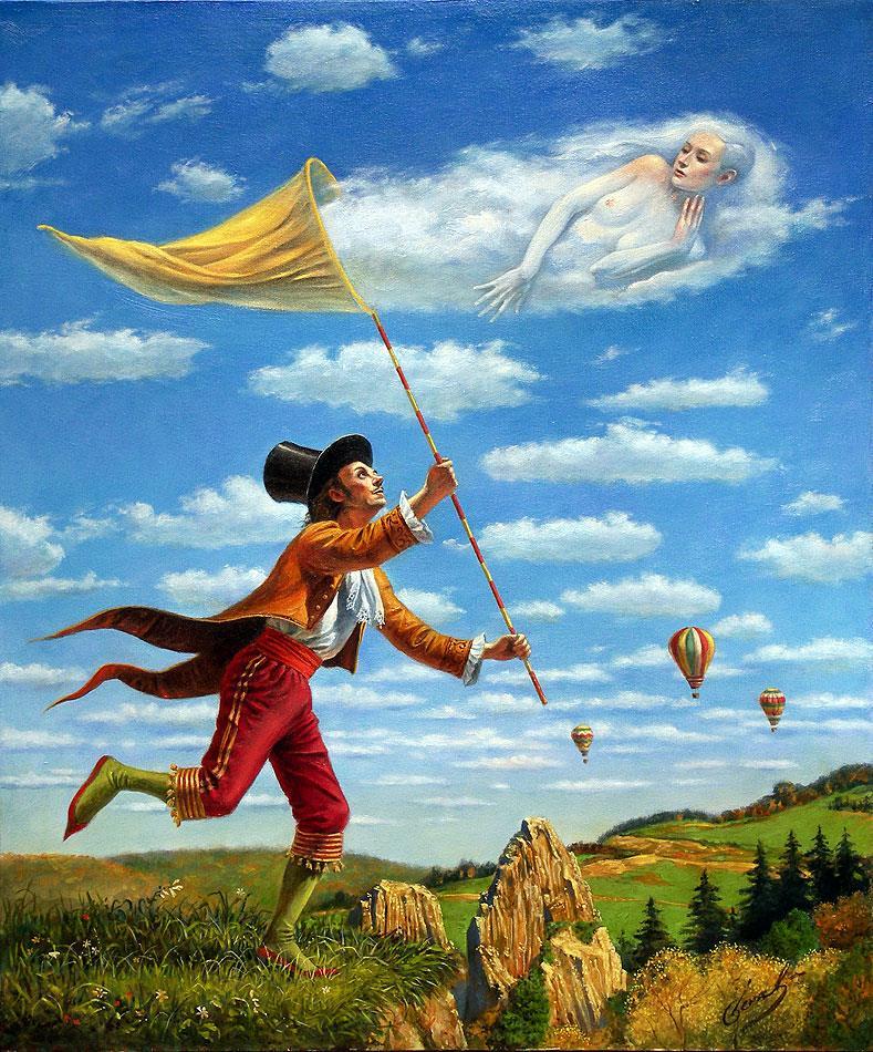 Dream Catcher, Михаил Хохлачев, картины, художники сюрреалисты