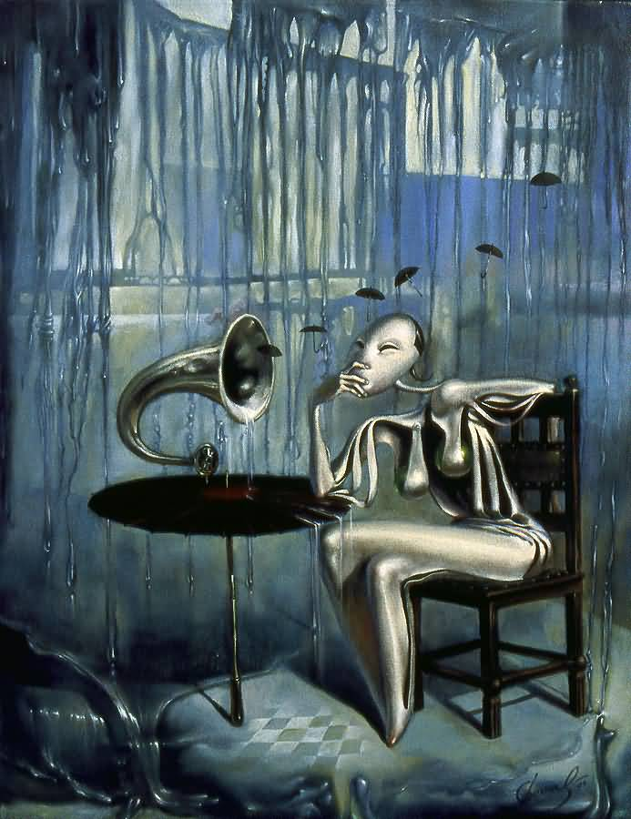 Melody of Rain, Михаил Хохлачев, картины, художники сюрреалисты