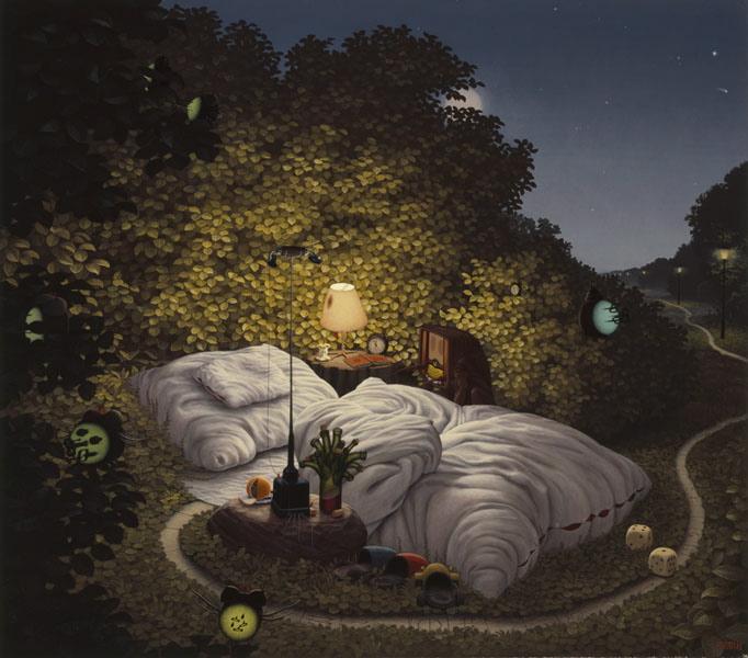 Poslanie, Sen nocy letniej, 2003, Яцек Йерка, картины