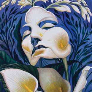 Оптические иллюзии в картинах Октавио Окампо, современного художника в стиле сюрреализм