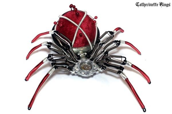 Стимпанк украшения и скульптуры Даниэля Пру, декоративно-прикладное искусство.
