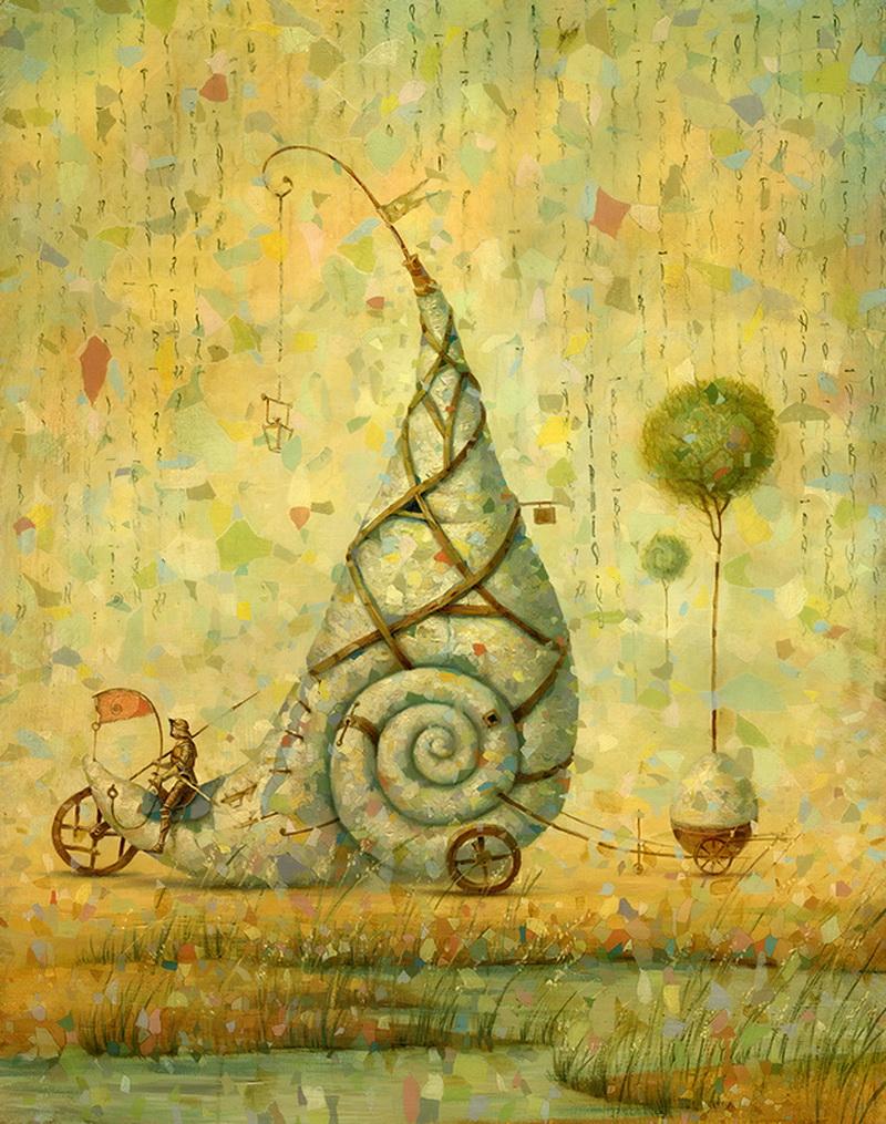 сюрреалистические картины художника Алексея Ежова
