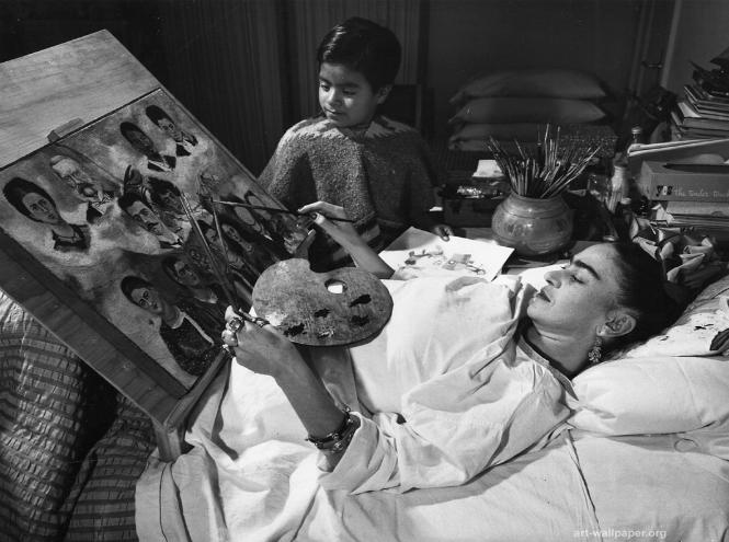 Фрида Кало после аварии