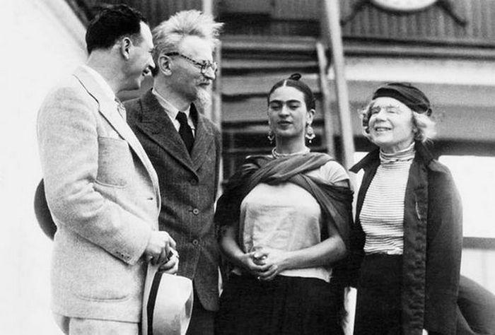 Фрида Кало с Троцким, фото