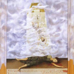 Фрида Кало, картины, Самоубийство Дороти Хейл