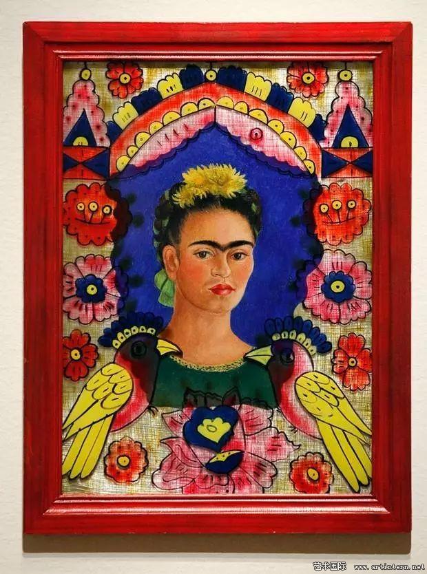 Рамка, картина Фриды Кало
