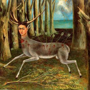 Фрида Кало, картины, олененок