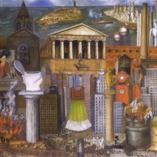 Фрида Кало, картины, тут висит мое платье