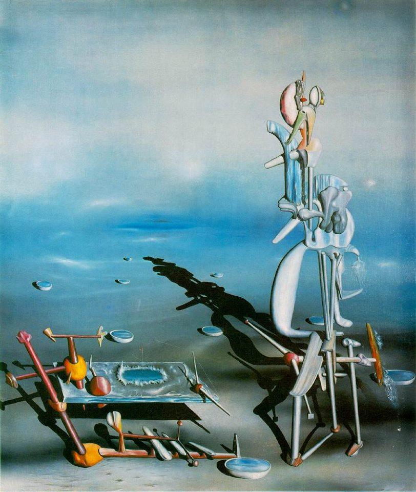 Ив Танги, картина бесконечная делимость