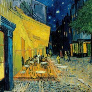 Картины Ван Гога, Ночная терасса кафе
