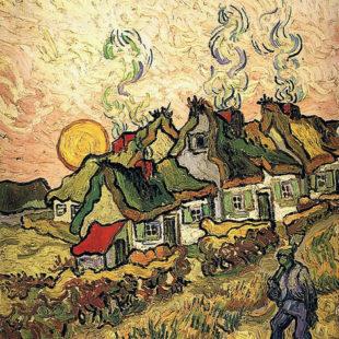 Соломенные дома под солнечным светом, воспоминания о Севере