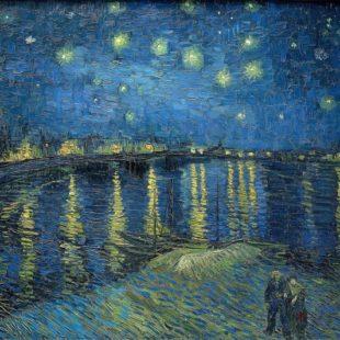 звёздная ночь над Роной