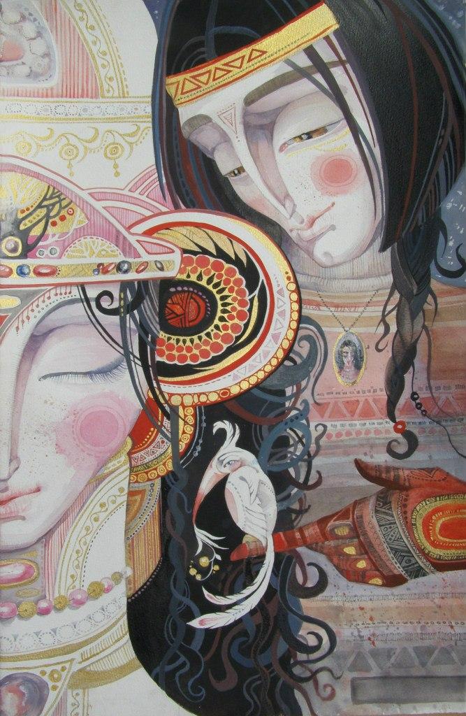 Картины малоизвестных художников, иллюстрации, модерн