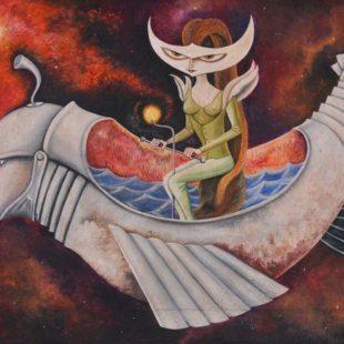 Путешествеи леди, Ремедиос Варо, сюрреализм
