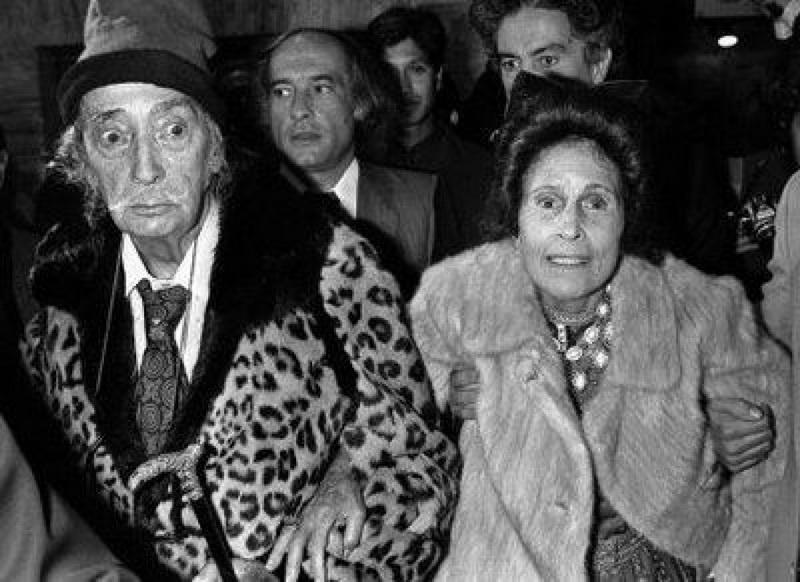 Саьвадор Дали, болезнь и старость