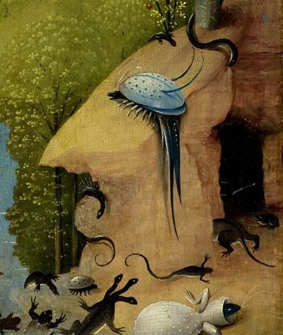 Фрагмент картины Иеронима Босха Сад земных наслаждений