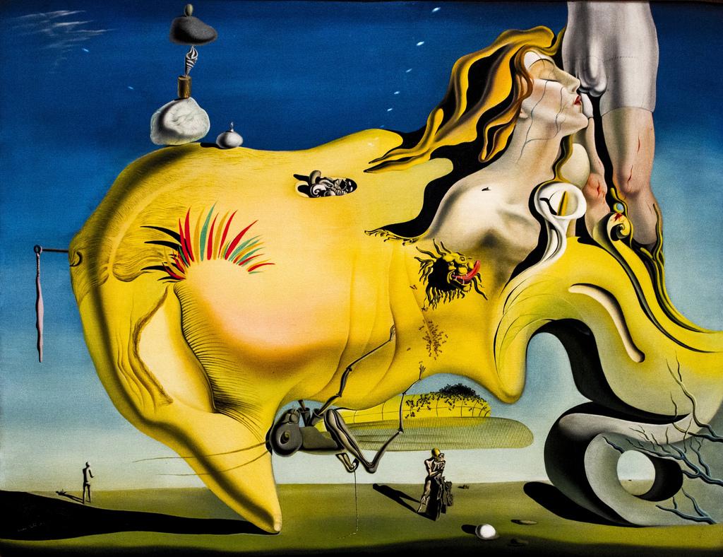 Сальвадор Дали великий мастурбатор, картина.