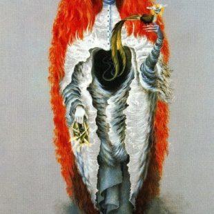 Ведьма, собирающаяся на шабаш, Ремедиос Варо, сюрреализм