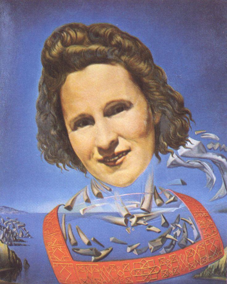Жена Сальвадора Дали, Портрет Галы с носорогическими признаками