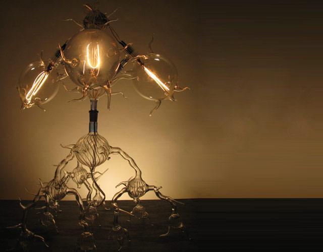 Современное искусство, оригинальные светильные лампы Дилана Кеде Ролофса