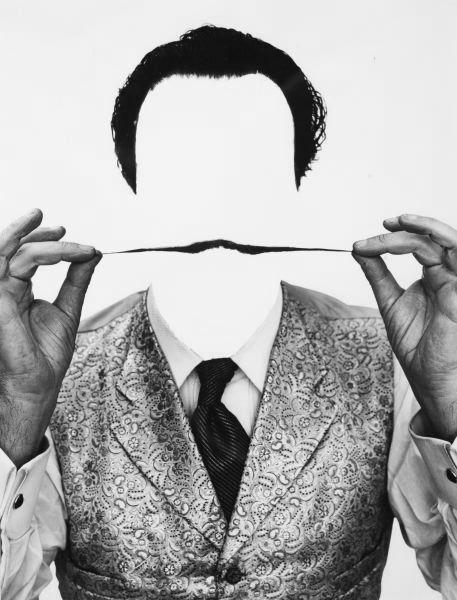 Филипп Халсман, фото Сальвадор Дали усы