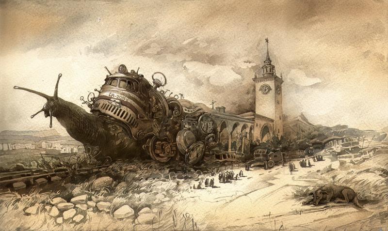 Картины Юрия Лаптева, сюрреализм