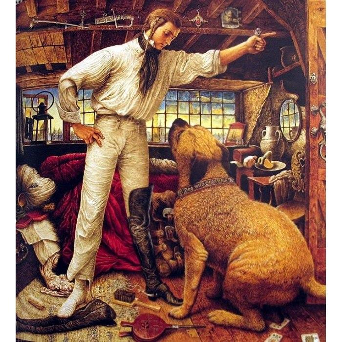 Иллюстрации Владислава Ерко, Огниво