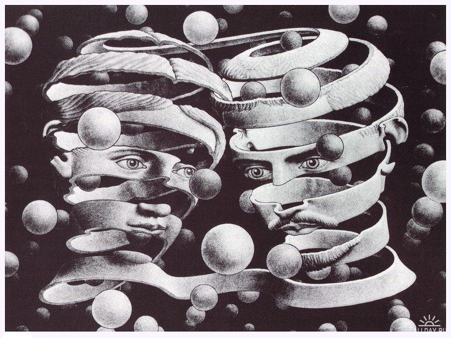 Эшер Мауриц Корнелис, картины
