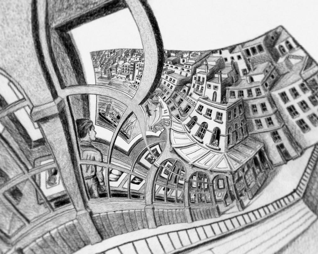графика Эшера Маурица Корнелиса