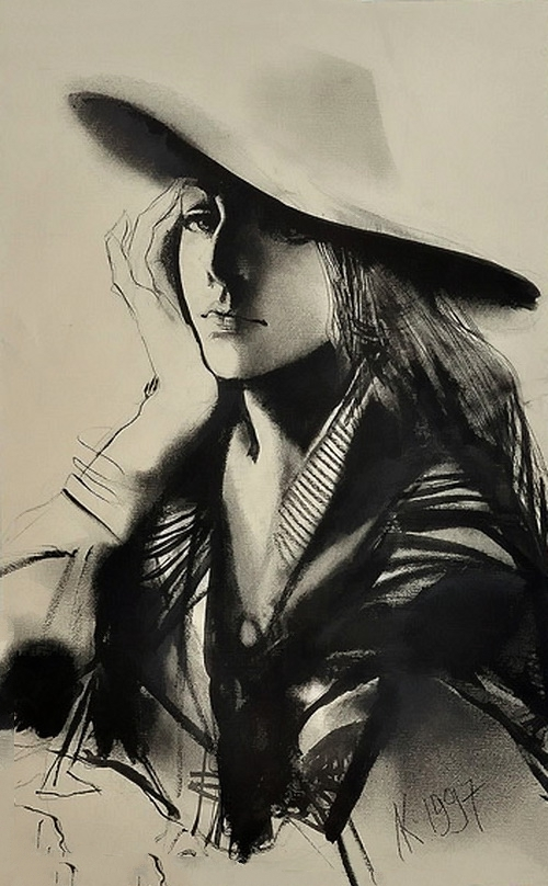 Клим Ли художник, графика