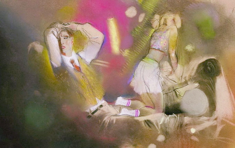 Рисунки к Лолите Набокова, Клим Ли