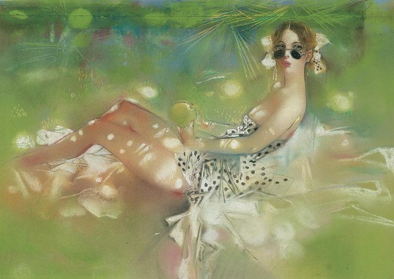 Клим Ли, рисунки, иллюстрации к Лолите Набокова.