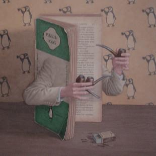 Сюрреалистическая живопись акварелью, Джонатан Уолстенхолм