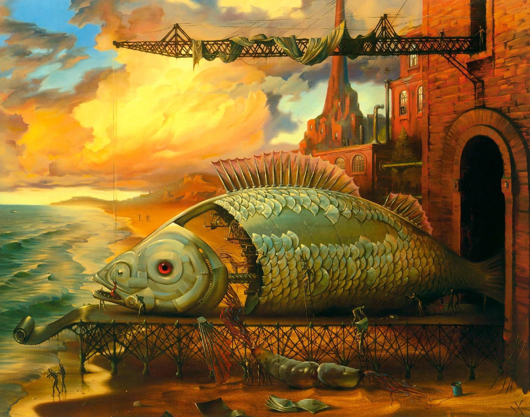 Картины Владимира Куша, Deep Sea Project