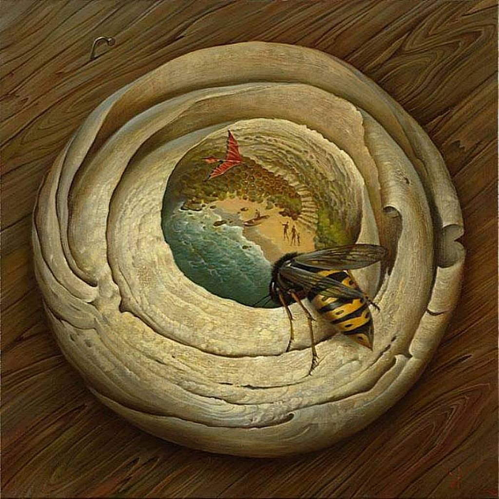 Владимир Куш, сюрреализм, One Flew over the Wasps Nest