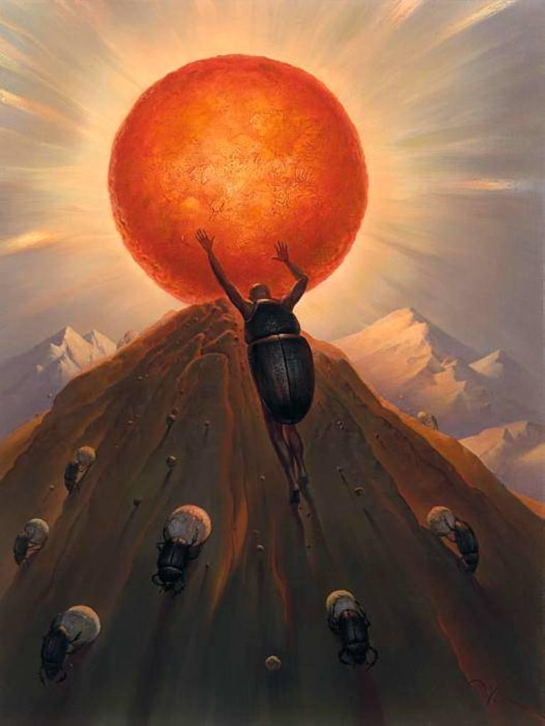 Владимир Куш, сюрреализм, Sisyphus