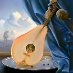 Владимир Куш, сюрреализм, Still Life with Mandolin