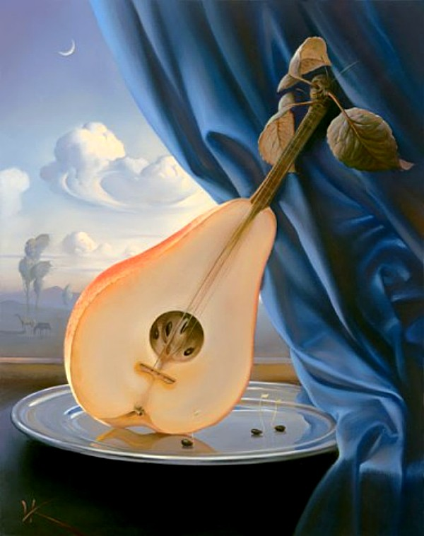 Владимир Куш, сюрреализм, Still Life with Mandolin