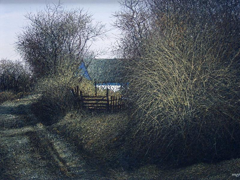 Иван Марчук, картины, пейзаж, реализм