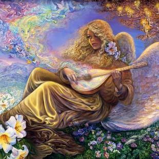 Картины Жозефины Уолл, Ангел мелодий, серия Богини,