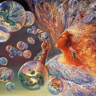 Мир Жозефины Уолл, Bubble flower, серия Феи
