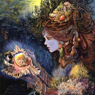 Картины Жозефины Уолл, Дочь глубин, серия Богини,