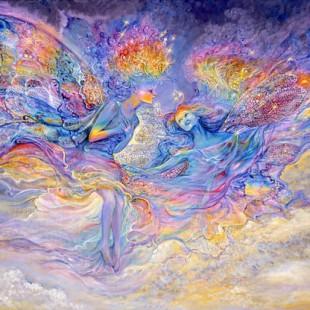 Картинки Жозефины Уолл, серия феи, феи радуги