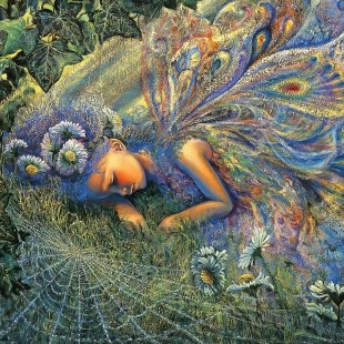 Картинки Жозефины Уолл, серия феи, пойманная солнечным лучем