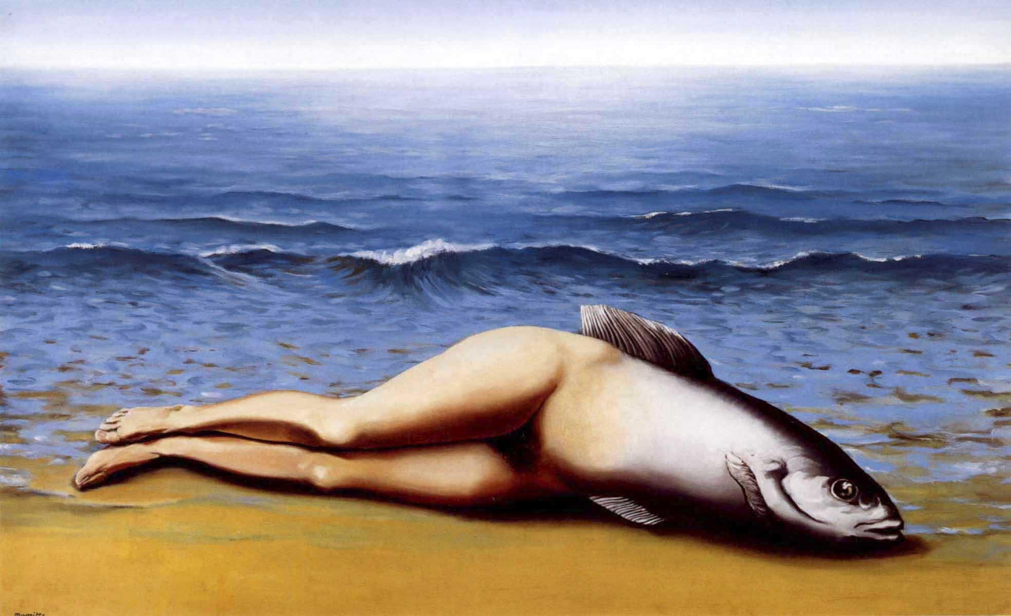 L'Invention collective (Коллективное изобретение), картина Рене Магритта, художника сюрреалиста