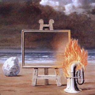 La Belle captive (Прекрасная пленница), Рене Магритт, художники, сюрреализм