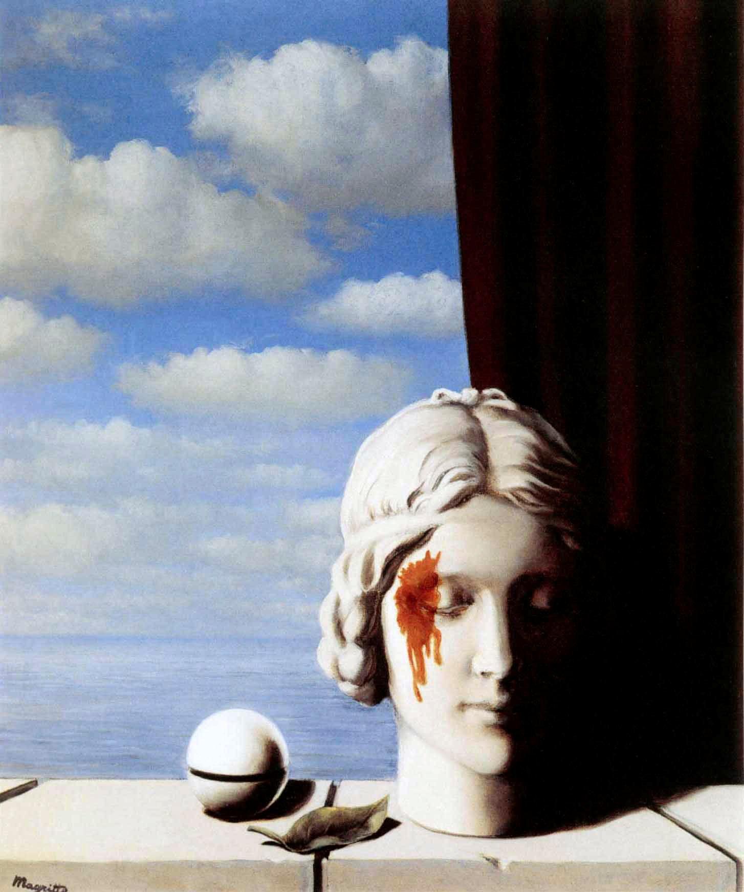 La Memoire (Память), Рене Магритт, художники, сюрреализм