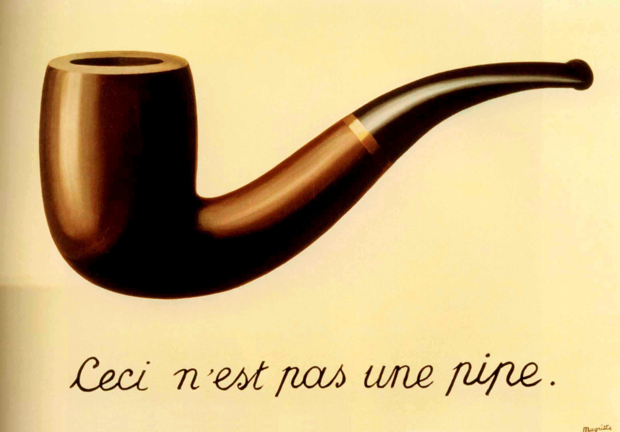 La Trahison des images (Вероломство образов), это не трубка, Рене Магритт, художники, сюрреализм