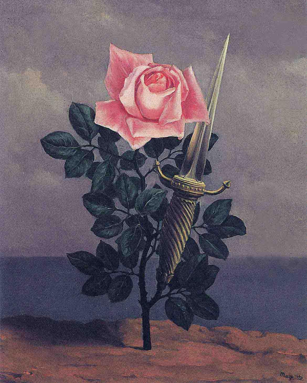 Le Coup au coeur (Удар в сердце), Рене Магритт, сюрреалистические картины